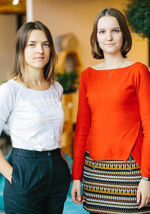 Anna Ponikarchuk and Anastasiia Martynenko